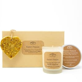 Eastern Treasure | Candle, Hand Soap and Ornament Gift Set