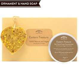Eastern Treasure Hand Soap and Ornament gift set Twoodle Co Natural Home Scents 2021