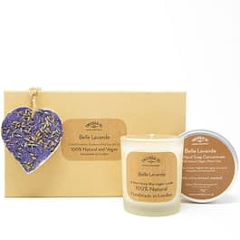 Belle Lavande | Candle, Hand Soap and Ornament Gift Set