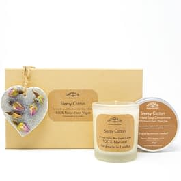 Sleepy Cotton | Candle, Hand Soap and Ornament Gift Set