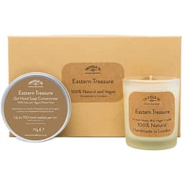 Eastern Treasure | Hand Soap and Scented Candle Gift Set