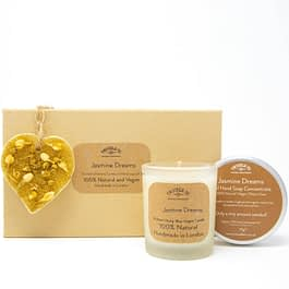 Jasmine Dreams | Candle, Hand Soap and Ornament Gift Set