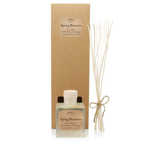 Spring Blossoms Room Diffuser and Box by Twoodle Co Natural Home Scents