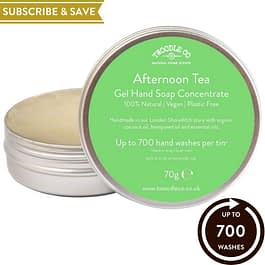Afternoon Tea Subscribe and Save Hand Soap Concentrate New For 2021 by Twoodle Co Natural Home scents pride gift