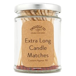 Extra Long Candle Matches | Silver Lid (Type 2)