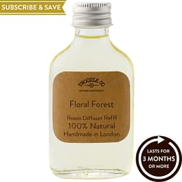 Floral Forest Subscribe and Save Essential Oil Room Diffuser Refill Twoodle Co Natural Home Scents