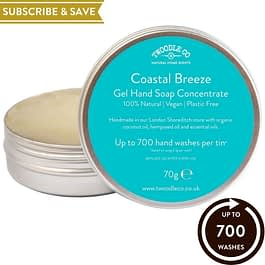 Coastal Breeze Subscribe and Save Hand Soap Concentrate New For 2021 by Twoodle Co Natural Home scents pride gift