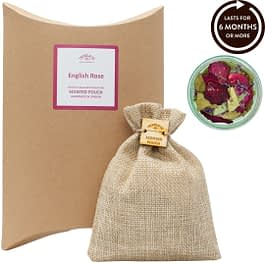 English Rose Scented Pouch Twoodle Co Natural Home Scents
