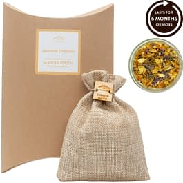 Jasmine Dreams Scented Pouch Twoodle Co Natural Home Scents