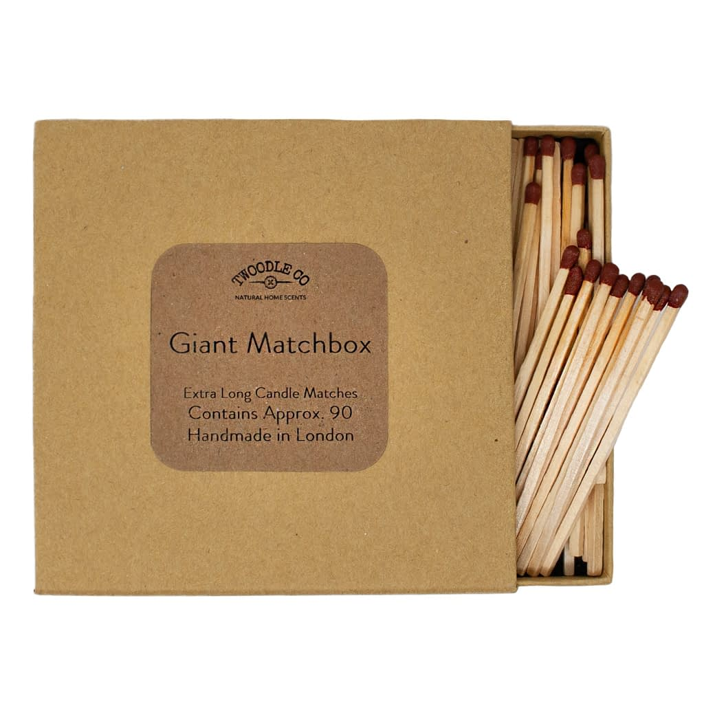 Giant match box extra long candle matches by Twoodle Co Natural Home Scents 1