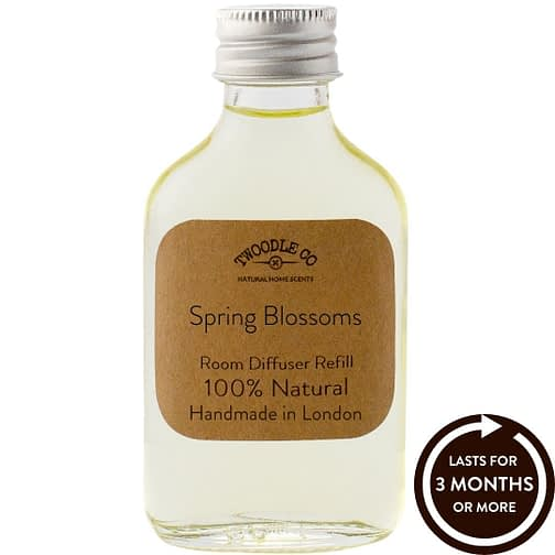 Spring Blossoms Essential Oil Room Diffuser Refill Twoodle Co Natural Home Scents