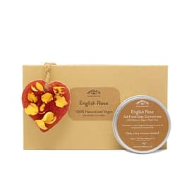 English Rose | Hand Soap and Scented Ornament Gift Set