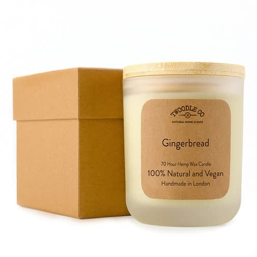 Twoodle Co Large Scented Candle Gingerbread