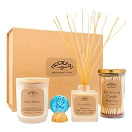 Green Meadow Large Gift hamper by Twoodle Co Natural Home Scents