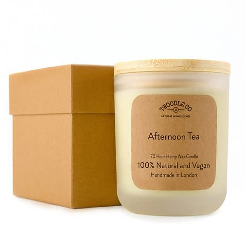 Twoodle Co Large Scented Candle Afternoon Tea