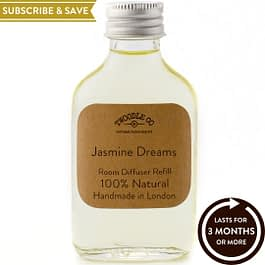Jasmine Dreams Subscribe and Save Essential Oil Room Diffuser Refill Twoodle Co Natural Home Scents
