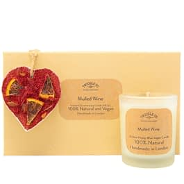Mulled Wine | Scented Ornament and Candle Gift Set