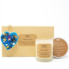 Afternoon Tea | Candle, Hand Soap and Ornament Gift Set