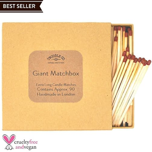Giant Match Box Extra Long Candle Matches Twoodle Co Natural Home Scents