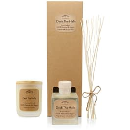 Deck The Halls | Diffuser and Candle Gift Set