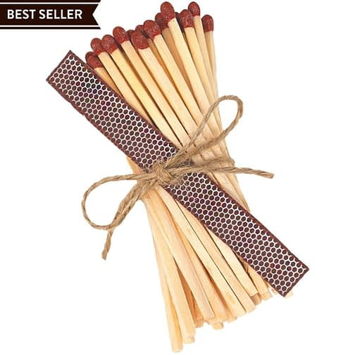 Extra Long Candle Matches Refill Twoodle Co Natural Home Scents