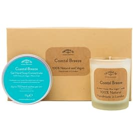Coastal Breeze | Hand Soap and Scented Candle Gift Set