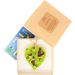 Lime Fizz   Scented Ornament