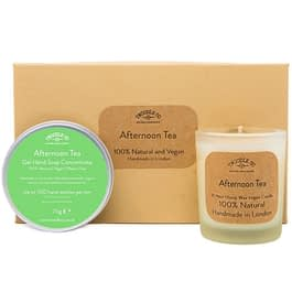 Afternoon Tea | Hand Soap and Scented Candle Gift Set