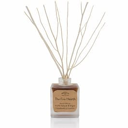 The Fire Hearth Plastic Free Natural Room Diffuser by Twoodle Co Natural Home Scents