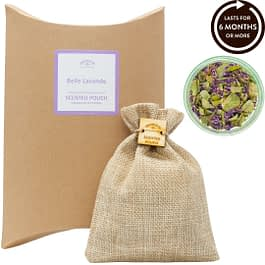 Belle Lavande Scented Pouch Twoodle Co Natural Home Scents