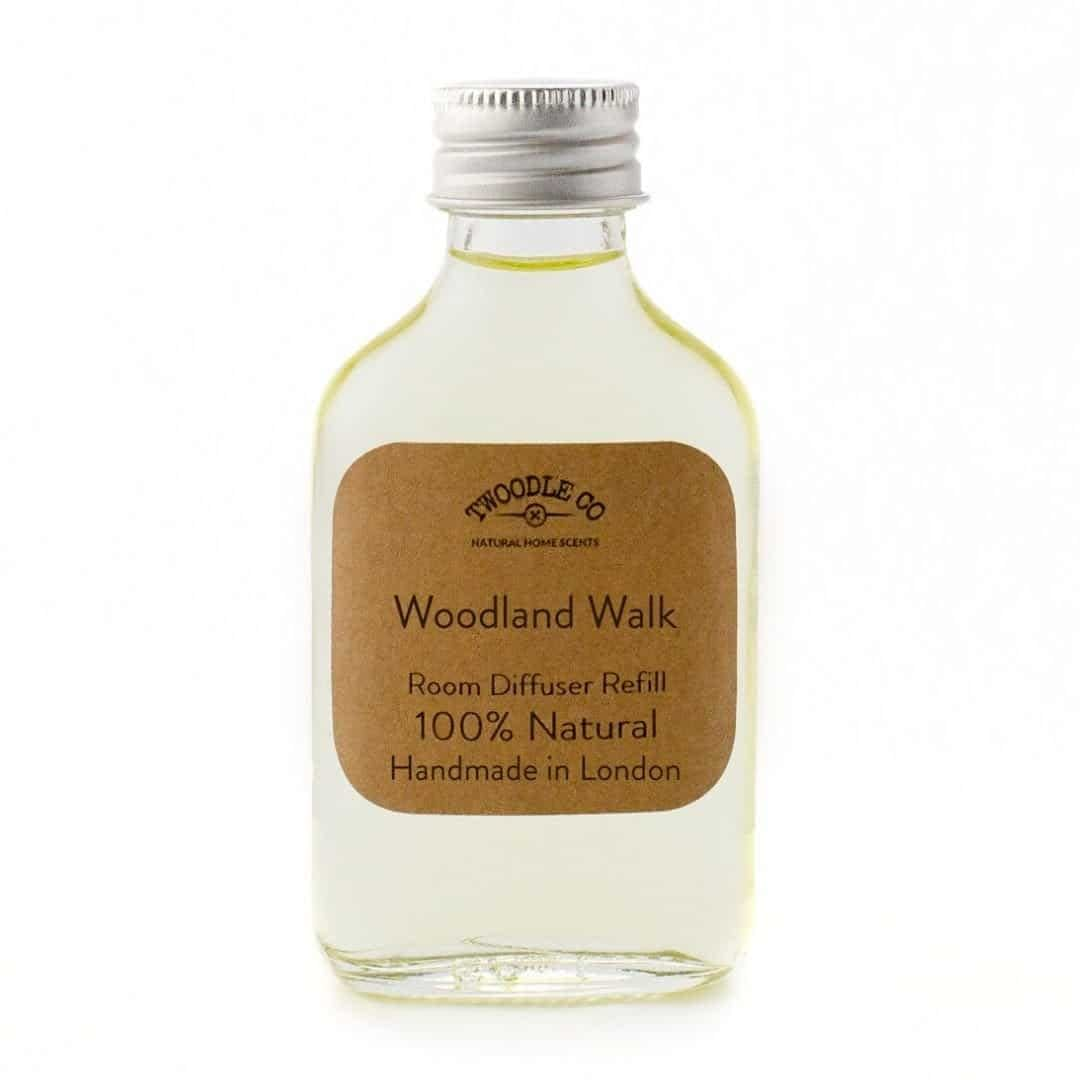 Woodland Walk Essential Oil Room Diffuser Refill by Twoodle Co Natural Home Scents 1