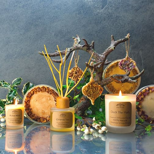 Christmas Collection by Twoodle Co Natural Home Scents