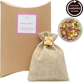 Sleepy Cotton Scented Pouch Twoodle Co Natural Home Scents