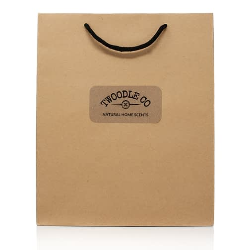 Large Gift Bag by Twoodle Co Natural Home Scents