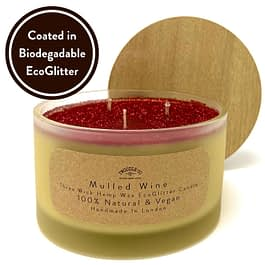 Mulled Wine Three Wick Candle by Twoodle Co Natural Home Scents