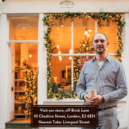 Visit our London store twoodle co natural home scents