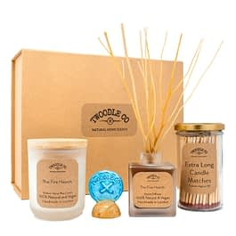 The Fire Hearth Large Gift hamper by Twoodle Co Natural Home Scents