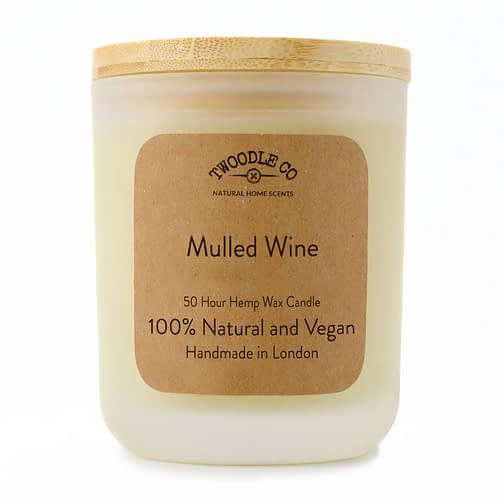 Twoodle Co Medium Scented Candle Mulled Wine