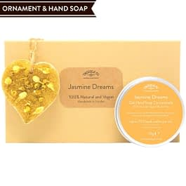 Jasmine Dreams Hand Soap and Ornament gift set Twoodle Co Natural Home Scents 2021