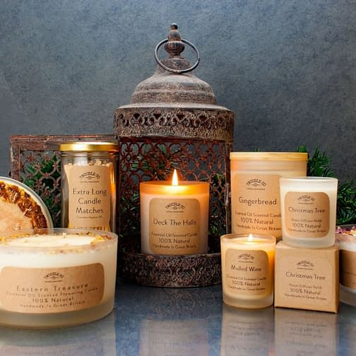 100 Natural Scented Candles by Twoodle Co Natural Home Scents 5
