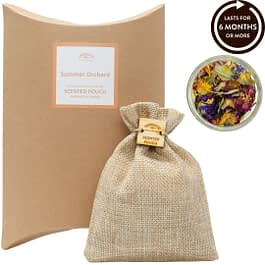 Summer Orchard Scented Pouch Twoodle Co Natural Home Scents