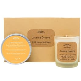 Jasmine Dreams | Hand Soap and Scented Candle Gift Set